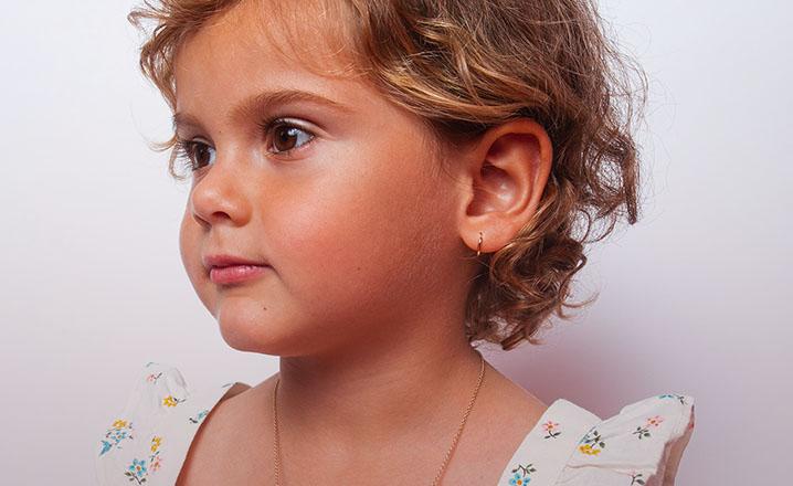 baby girl hoop earrings