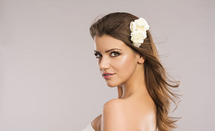 beautiful woman natural skin