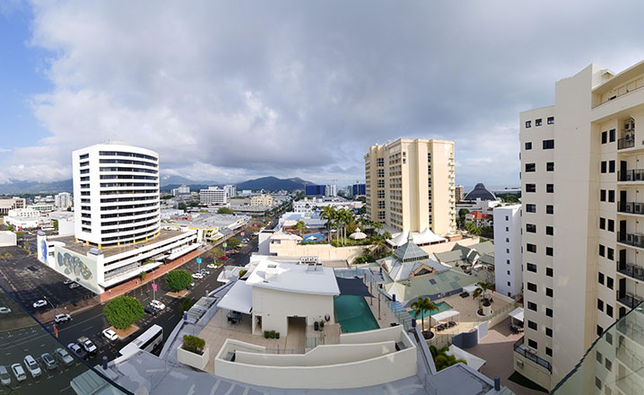 cairns australia city view