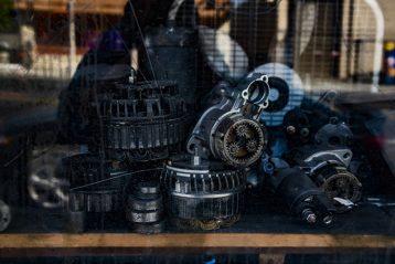 car parts shop