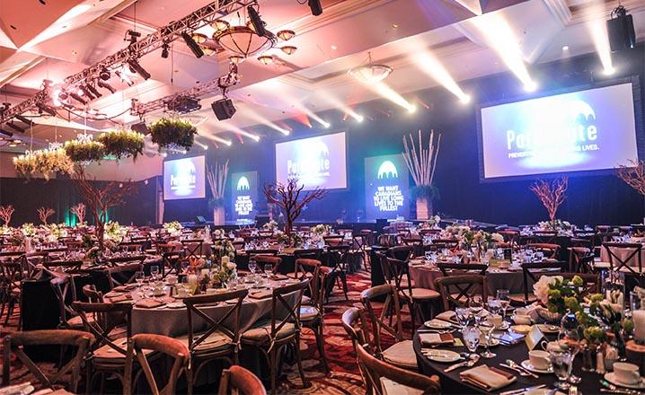 gala ceremony event venue