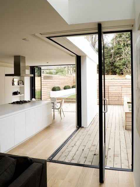 combined indoor outdoor space