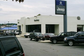 jeep car dealer shop