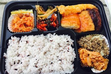 lunch box food