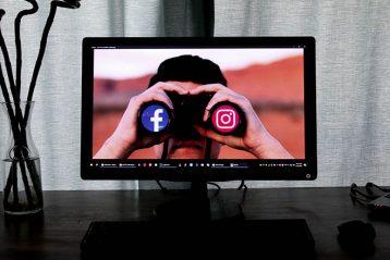 social media binoculars