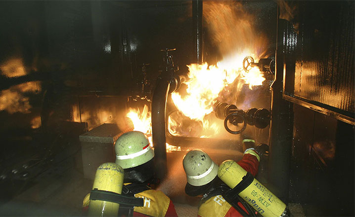 workplace explosion injuries